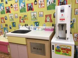 メガドンキ福重店の授乳室の画像