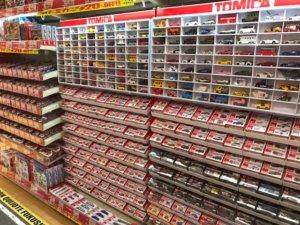 メガドンキ福重店のおもちゃ売り場