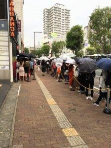 モッチャム福岡大名店の混雑の画像